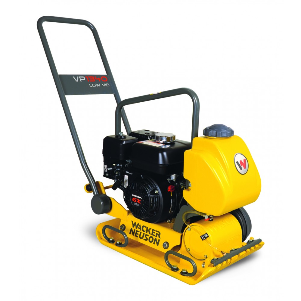 Wacker 1340w Plate Compactor With Wheel Kit 5000630121