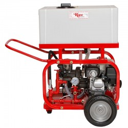 Rice Hydro DPH8 Hydrostatic Test Pump 32 GPM, Up To 300 PSI, Triple Diaphragm Pump, Honda Engine