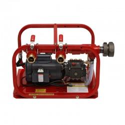 Rice Hydro EL-FHT Fire Hose Tester, 2 Outlet, Plunger Pump, Electric 1 HP 50/60 HZ, 110/220 Volt