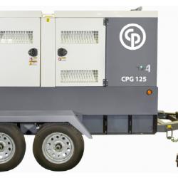 Chicago Pneumatic CPG 125 T4F EB Trailer Generator 8972823133