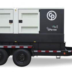 Chicago Pneumatic CPG 150 T4F EB Trailer Generator TBD