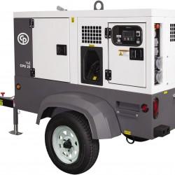 Chicago Pneumatic CPG 45 TF4 NB Trailer Generator 8972823124