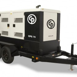 Chicago Pneumatic CPG 70 T4F EB Trailer Generator 8972823127