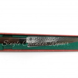 "Midori Hamono Sujuhiki Knife Damascus Japanese Made Octagon Handle, VG10, 240mm (9.44"")"