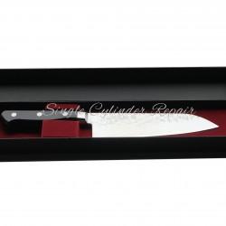 "Takamura General Purpose Knife Damascus Japanese Made 180mm 7"" VG-10"