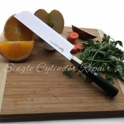 """Zanmai Damascus Vegetable Knife Japanese Made VG10 Steel, 165mm (6.5"""")"""