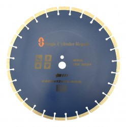 "Diamond Blade 16"" Concrete Saw Blade Diamond Wheel Premium for Ts800, K960, K970 Walk Behind Saw"