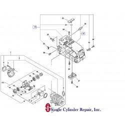 Echo 10400439231, 10400439233 Engine Cover Kit CS-3000