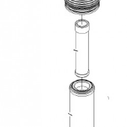 Exmark 103-5178 OEM FILTER-AIR ASSY Lazer Z XP Diesel Lazer Z XS Liquid Cooled