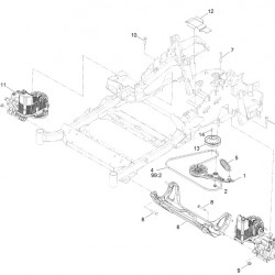Exmark 116-3282 OEM KIT,HYDRO SERVICE ASSY Lazer Z AS LZE22KA484