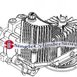 Exmark 116-6410 116-1383 109-8079 OEM Rh Hydro Asm (16ccw/Shock) ASSY LZX921KA606 LZX980EKC726