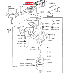 Kawasaki 15001-2958 OEM Carburetor