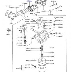 Kawasaki 15001-2977 OEM Carburetor