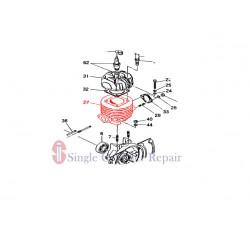 MULTIQUIP 1061241001 CYLINDER CP