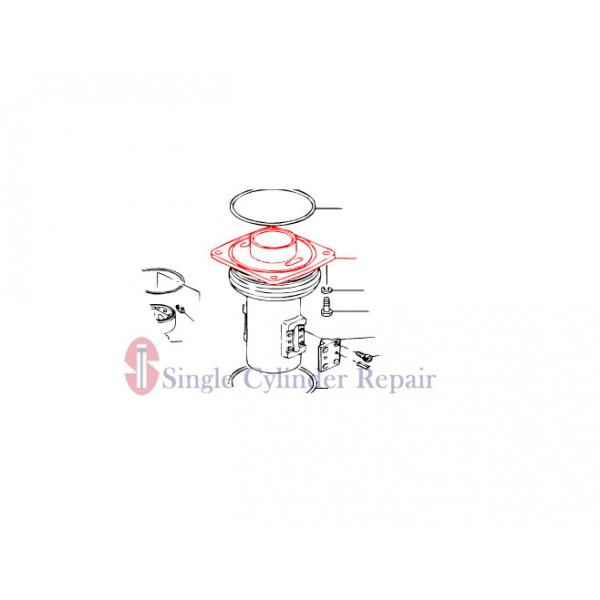 MULTIQUIP 352105710 GUIDE CYLINDER