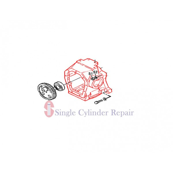 MULTIQUIP 2521030131 CRANK CASE