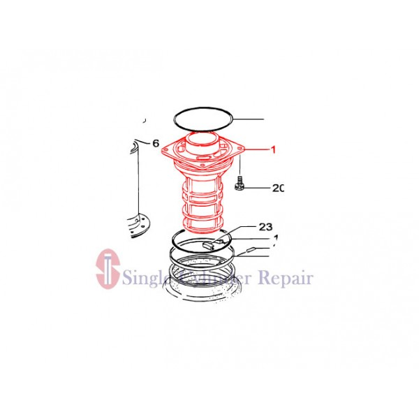 MULTIQUIP 355213010 GUIDE CYLINDER