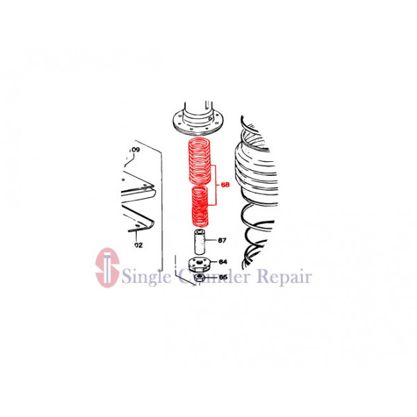 MULTIQUIP 352326610 MAIN SPRING (2)