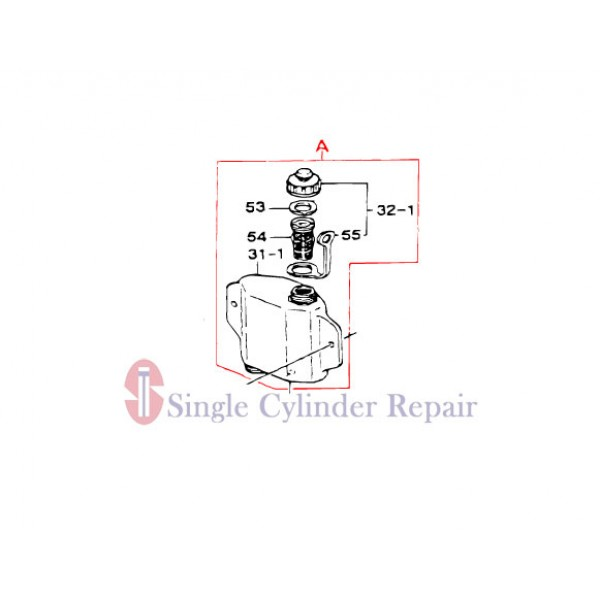 MULTIQUIP 353910030 TANK ASSY OIL