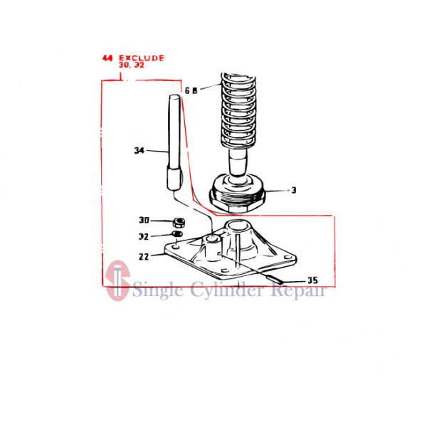 MULTIQUIP 303910020 FOOT PLATE ASSY
