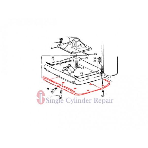 MULTIQUIP 303010380 METAL SHEET