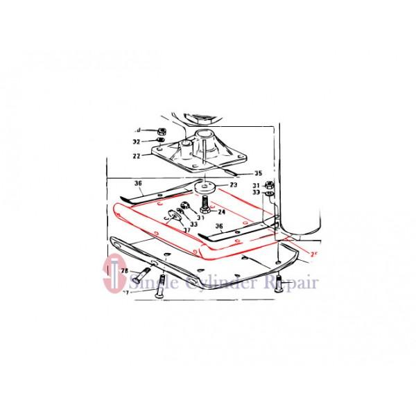 MULTIQUIP 301010560 FOOT 11 3/4 (W) X 14 (L) STD