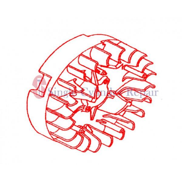 MULTIQUIP 31110Z0D003 FLYWHEEL COMP