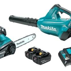 Makita XT274PT Handheld Blower and Chain Saw Combo Kit 18V x2 LXT 2Pc