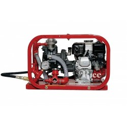 Rice Hydro DPH-3B Hydrostatic Test Pump 11 GPM, Up To 550 PSI, Triple Diaphragm Pump, Honda Engine