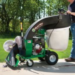 Billy Goat QV550H Industrial Duty Hard Surface Leaf and Debris Vacuum, 160 cc Honda Engine
