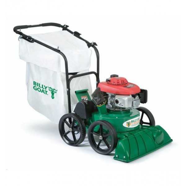 Hirrican Riding Leaf Blower: Billy Goat KV650SPH Lawn And Litter Vacuum, 187 Cc Honda