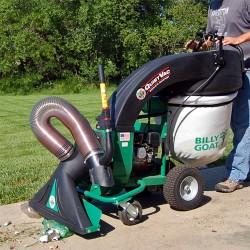 Billy Goat QV550H Industrial Duty Hard Surface Leaf and Debris Vacuum, 160 cc Honda Engine
