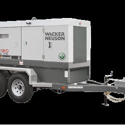 Wacker G120 Tier 4i Generator, Skid Base 5200003854