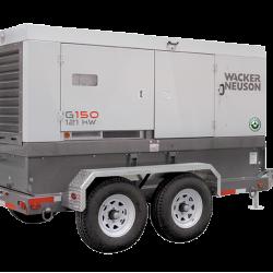 Wacker G150 Tier 4F Generator, Skid Base 5200010135