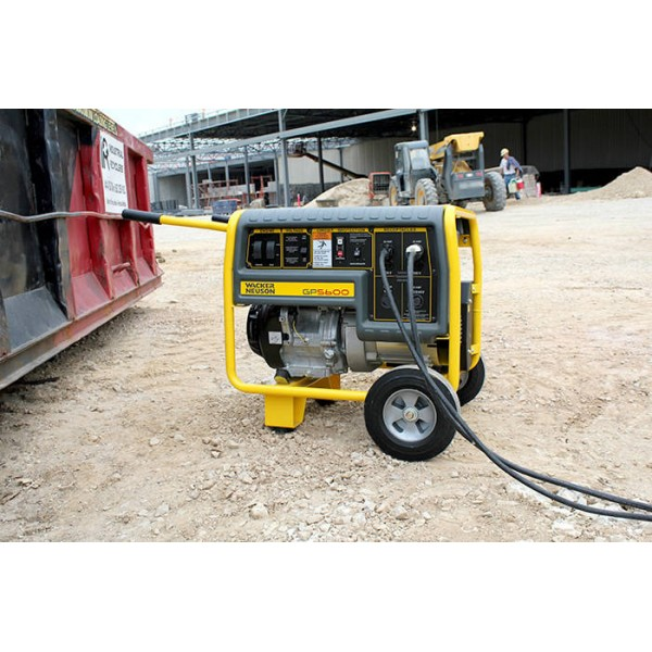 Wacker GP5600A Generator with wheel kit 0620983