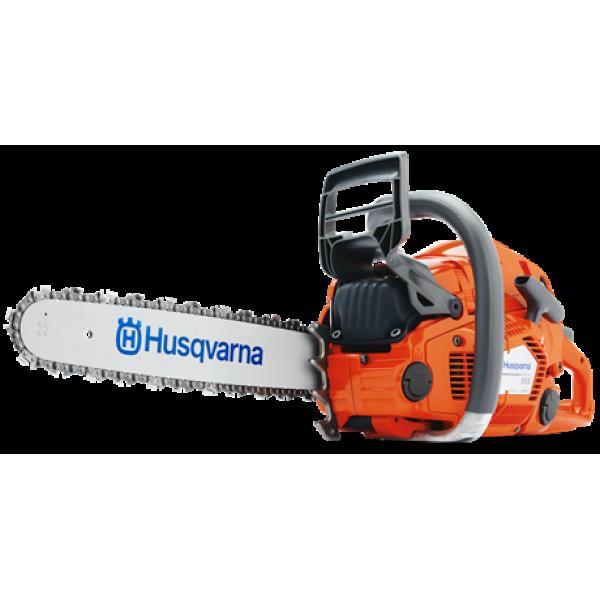 Husqvarna 555 Chainsaw with many bar length option available