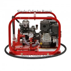 Rice Hydro DP-3B Hydrostatic Test Pump 11 GPM, Up To 550 PSI, Triple Diaphragm Pump, Briggs Engine