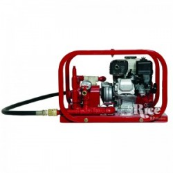 Rice Hydro DEH3C Hydrostatic Test Pump 6 GPM Up To 450 PSI, Piston Pump, Honda Engine