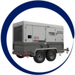 Wacker Oem G320-Generator, Skid Base, Custom 5200010260