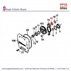 multiquip 040006304 Bearing 6304-C3 MVI-PC60,MT-60H