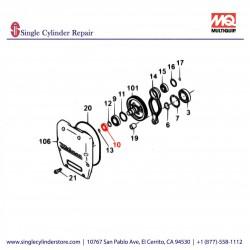 Multiquip 040006305Bearing 6305C3 MT-60H,70,8G