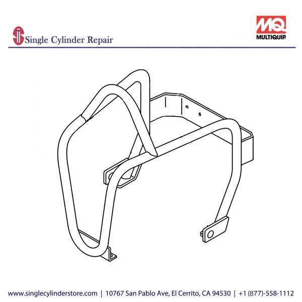 Multiquip 416121050 GUARD HOOK MVC88VTH/VTHW
