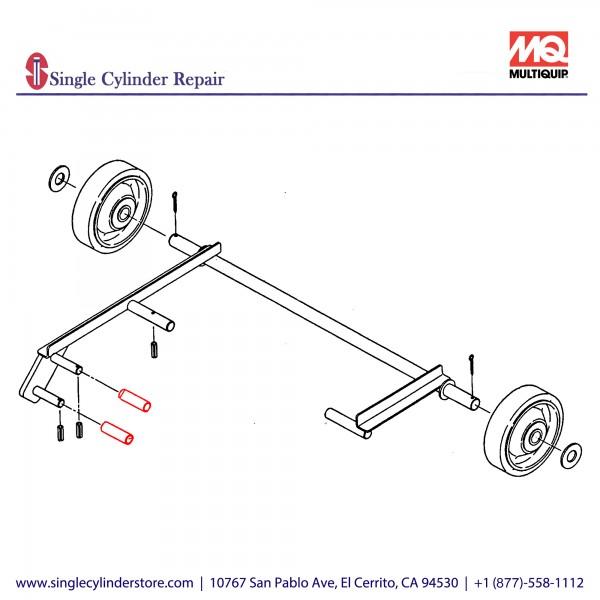 Multiquip 416454150 Roller MVC-88G