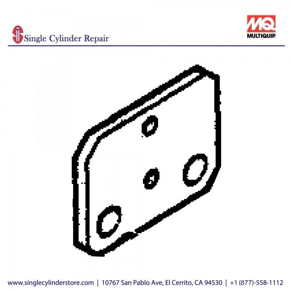 Multiquip 457445840 Bracket Clamp MVH-304D,502DS