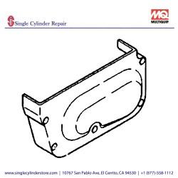Multiquip 463216110 Cover Belt MVHR-60H