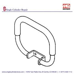 Multiquip 463342150 Handle Grip MVHR-60H