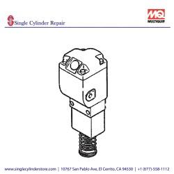 Multiquip 463342190 Hand Pump Ay MVHR-60H