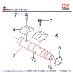 Multiquip 467355910 Shaft, MVH408