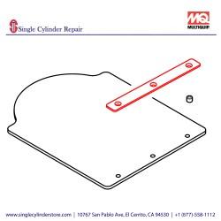 Multiquip 467466760 STOPPER COVER MVH508DZ