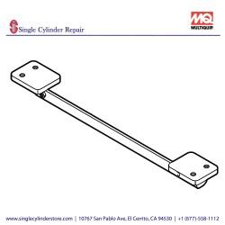 Multiquip 469352340 BRACKET, STOPPER MVH508D